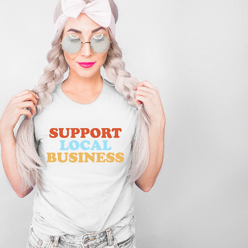 Support Local business svg, Small Business Tee design, Cute Vendor Tee, Small Bu
