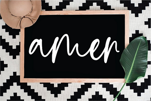 Amen Svg, Christian Sign Svg, Prayer Svg, Relgious Cut File, Modern Farmhouse Sv