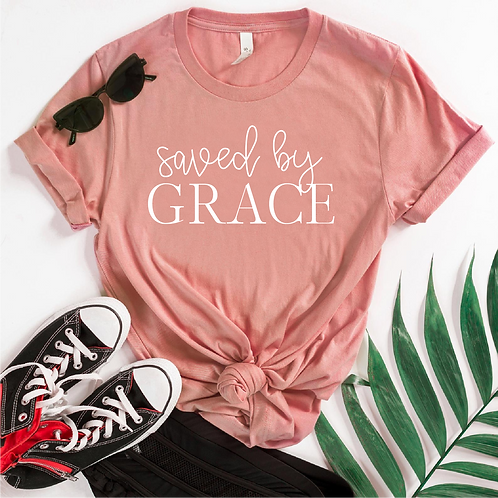 Saved by Grace SVG, EPS, PNG, Free Bird Design for mugs, crafts, tshirts