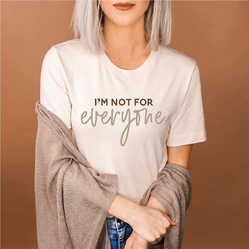 I'm not for everyone t-shirt svg, hipster t-shirts, hipster clothing, hipste