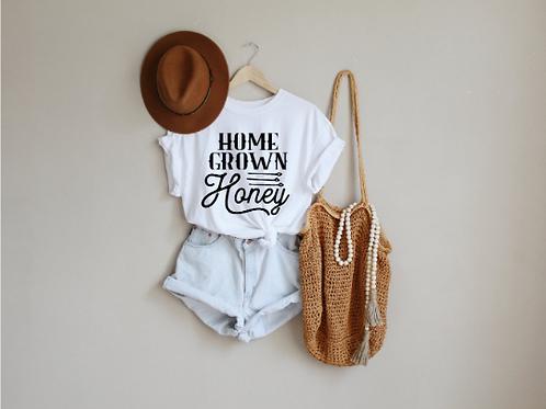 Home Grown Honey svg, Country svg, Hippie svg, Free bird shirt, Hippie shirt