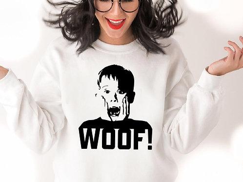 Home Alone woof, SVG, EPS, PNG, JPG, DXF design