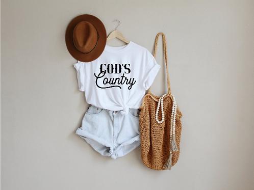 God's Country svg, Country svg, Hippie svg, Free bird shirt, Hippie shirt design
