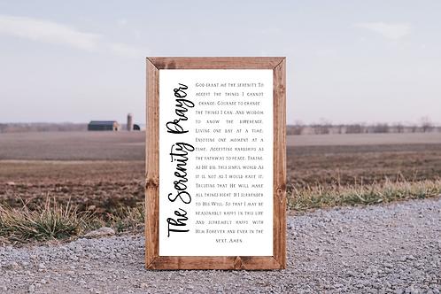 The Serenity Prayer svg ,Bible Verse, 5 Cut Files