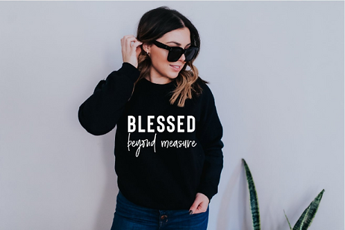 Blessed beyond measure svg, Faith svg, Jesus svg, God svg, Religious svg, Religi