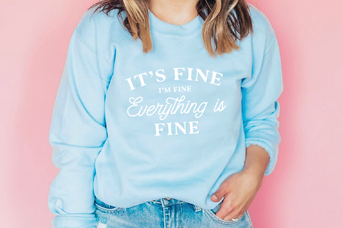 It's fine, I'm fine everything is fine Cut Files  SVG, EPS, PNG, JPG, DXF