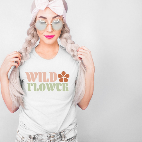 Wild Flower Roll svg, Vintage svg, Retro svg,  Mom shirt, New Mom shirt, Baby sh