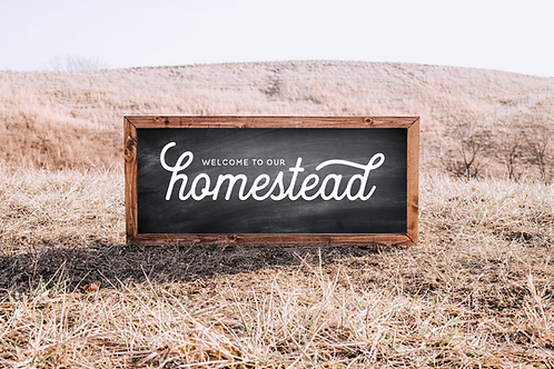 Farmhouse svg, Welcome to our Homestead 5 Cut Files