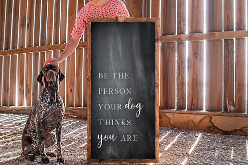 Be the person your Dog wants you to be, 5 Cut Files