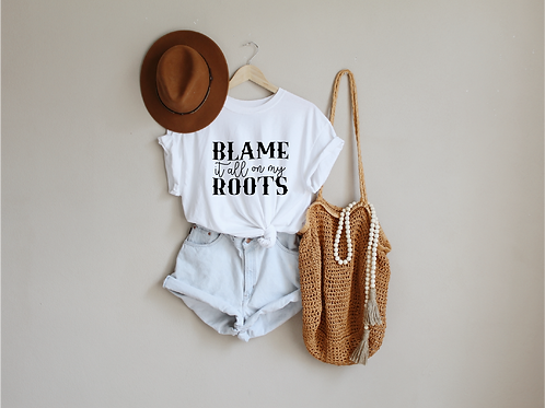 Blame it all on my roots svg, Country svg, Hippie svg, Free bird shirt, Hippie s