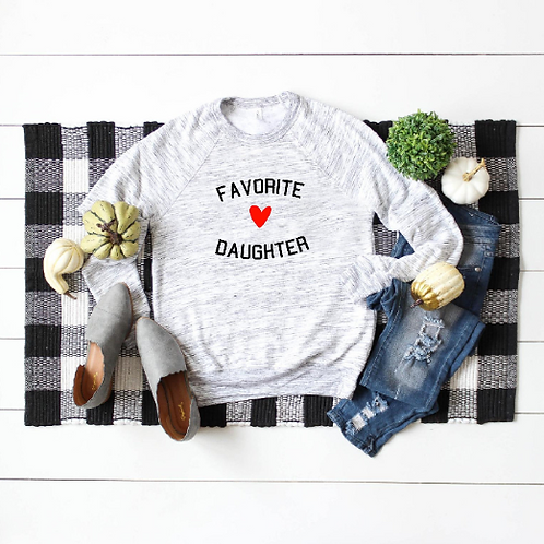 Favorite Daughter, Fathers Day gift, Mothers Day Gift, Daughter Father Gift, Wed