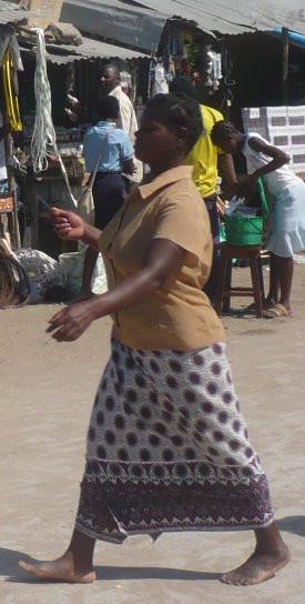 woman in market, Vilanculos, Mozambique