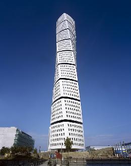 the turning torso, Santiago Calatrava, Malmo, Sweden