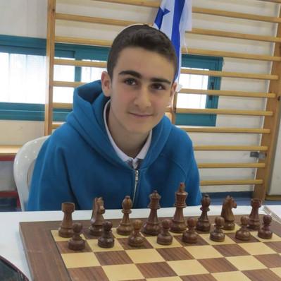אלוף הארץ בשחמט לא מוותר על השבת