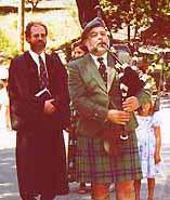 Informal Scots Wedding