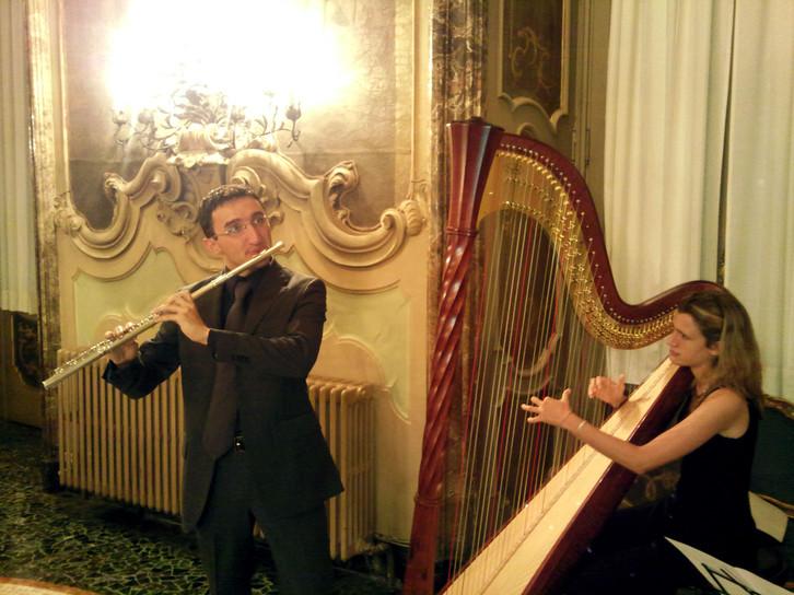 Duo Flute Harp