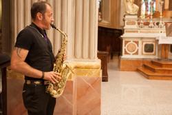 Ceremony Sax Church