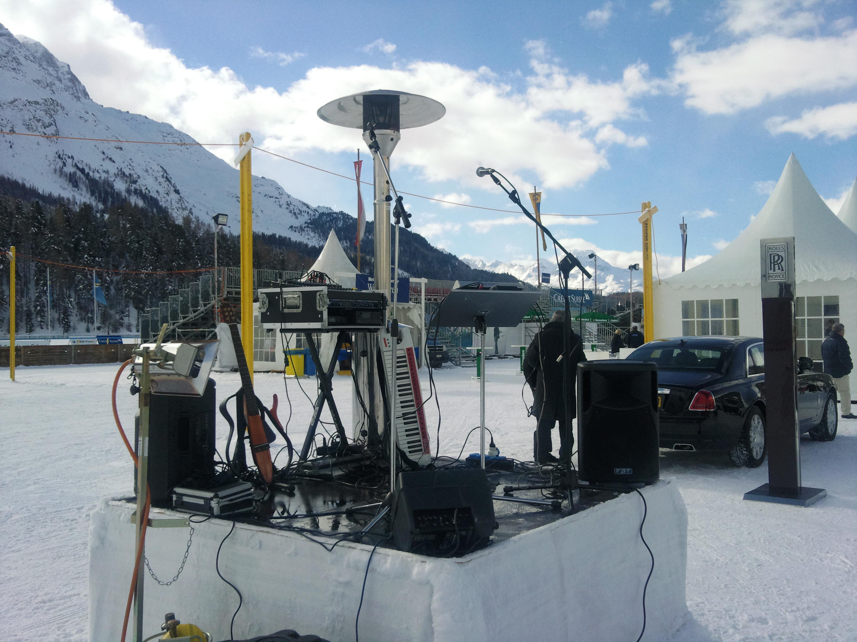 White Turf Stage St. Moritz