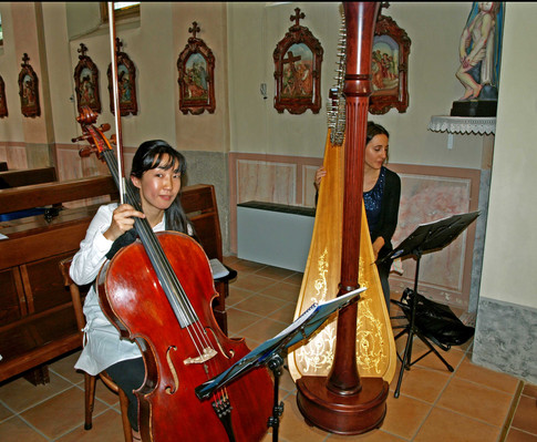 Cello & Harp