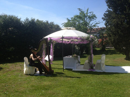 Arpa in Villa Dominis