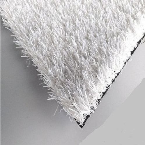 Искусственная трава белая