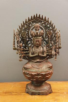Bronze 12 Hand Buddha