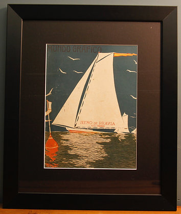 Original 1920's Print (Sailing)