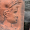 Thumbnail: Two Stunning Terracotta Face Plaques, Lovely Colour.