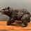 Thumbnail: Lovely Heavy Bronze Kodiak Bear