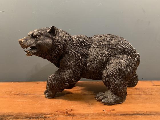 Lovely Heavy Bronze Kodiak Bear