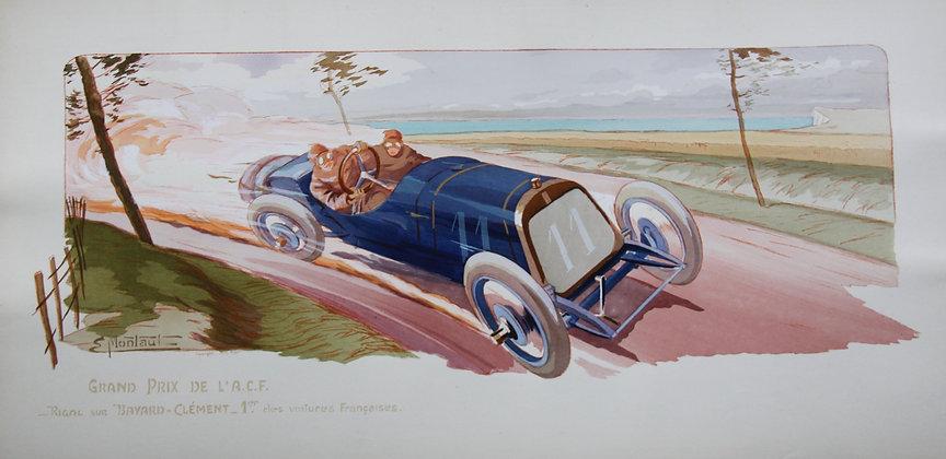 Gamy and Montaut. c1910. Cars Part 1. Pochoir