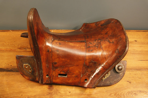 Wooden Tibetan Saddle.