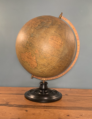 Large 19inch Table Globe by Philips circa 1940