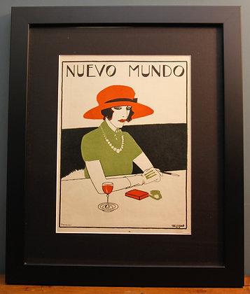 Nuevo Mundo. Original Spanish 1920's Print