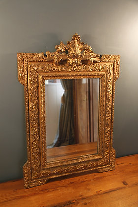 Beautiful Mid Sized Gilded Mirror.