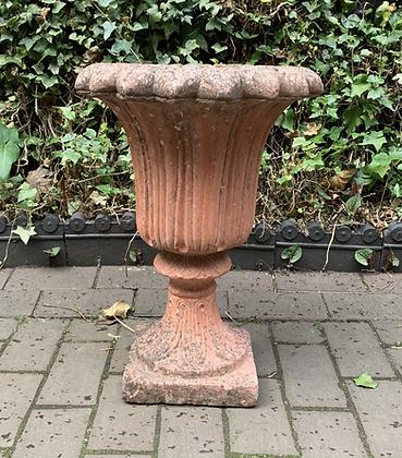 Single Terracotta Garden Urn