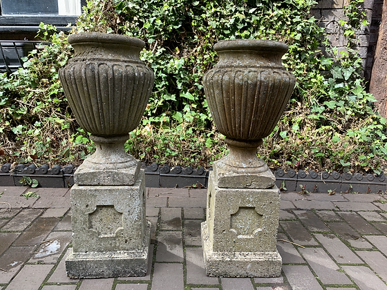 Two Garden Urns
