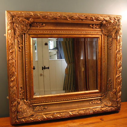 Beautiful Heavy Bevelled Mirror.