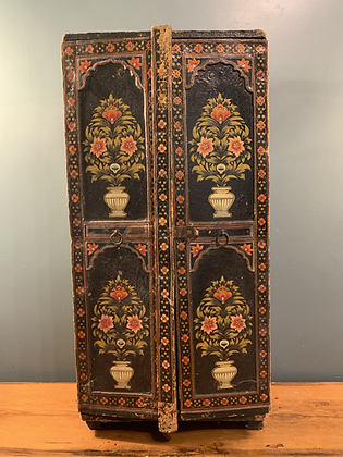 Gorgeous Hand Painted Cabinet With Key