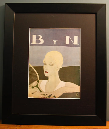 Blanco Y Negro. Original Spanish 1920's (Tennis)