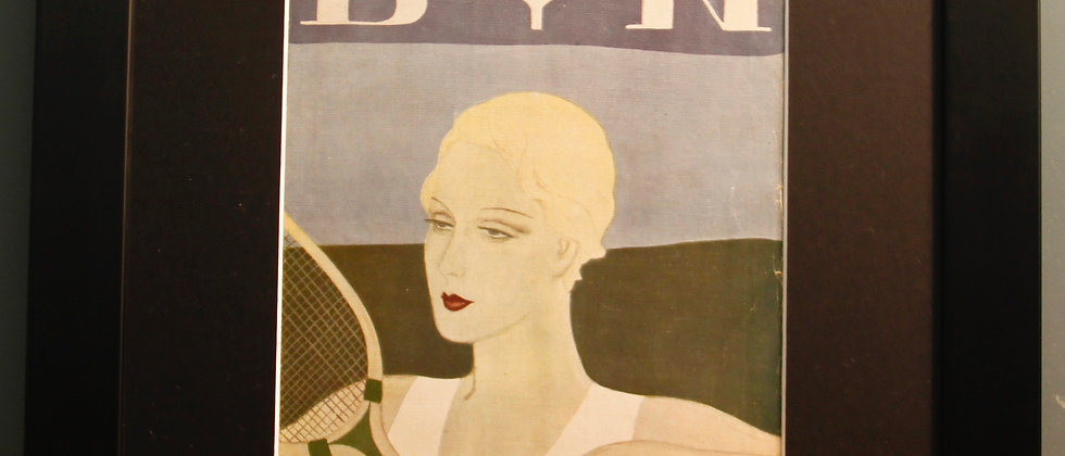 Blanco Y Negro. Original Spanish 1920's (Tennis)