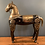 Thumbnail: Characterful Brass and Wooden Indian Horse