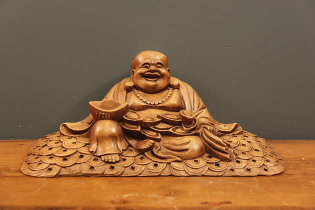A Laughing Money Luck Buddha