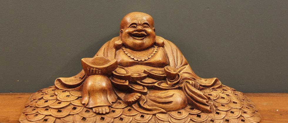 A Laughing Money Luck Buddha