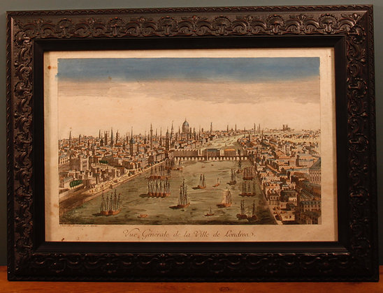 French Framed Print of London