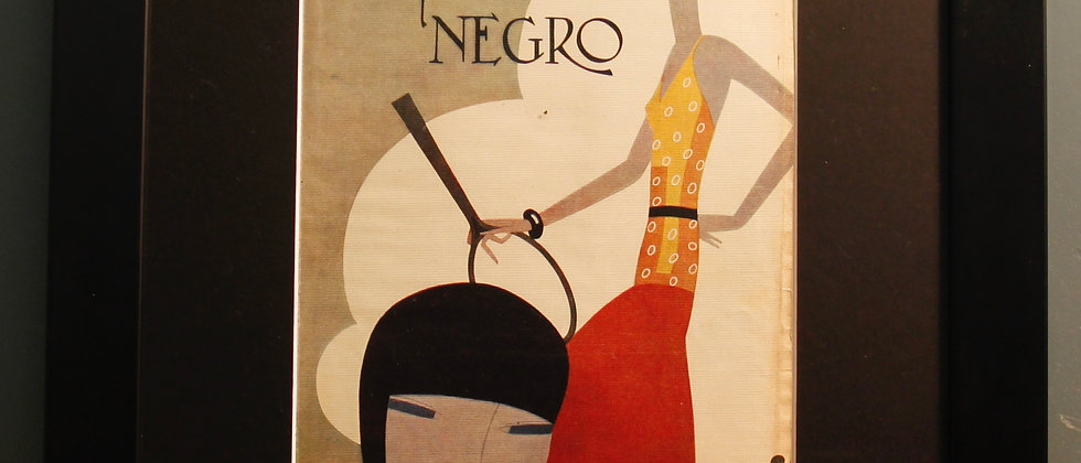 Blanco Y Negro. Original Spanish 1920's. (Tennis)