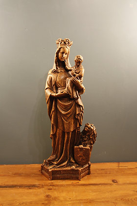 Ceramic Mary and Child (looks like wood)