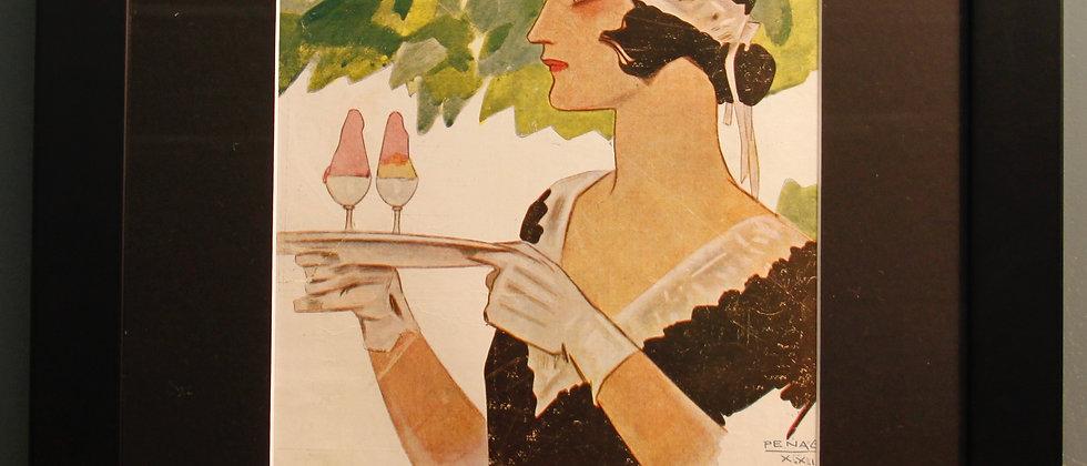 Nuevo Mundo. Original Spanish 1920's (Spanish Maid)