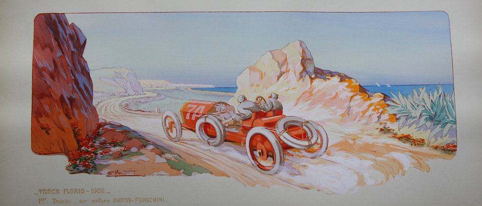 Gamy and Montaut. c1910. Cars Part 4. Pochoir