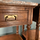 Thumbnail: Lovely Arts and Crafts Pair of Bedside Tables with Marble Tops